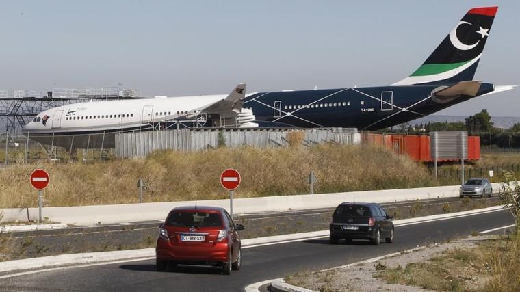 Airbus A340 do ditador líbio Muammar Kaddafi