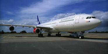 Último Airbus A340 da SAS
