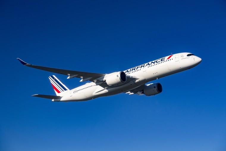 Airbus A350 da Air France em voo