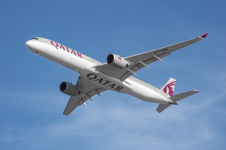 Airbus A350-1000 da Qatar Airways