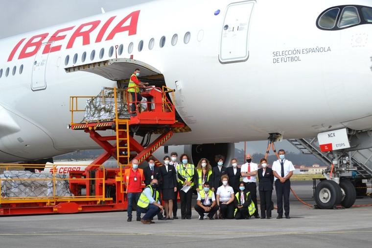 Airbus A350 da Iberia