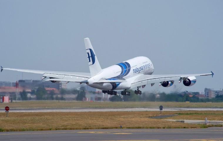 Airbus A380 da Malaysia Airlines