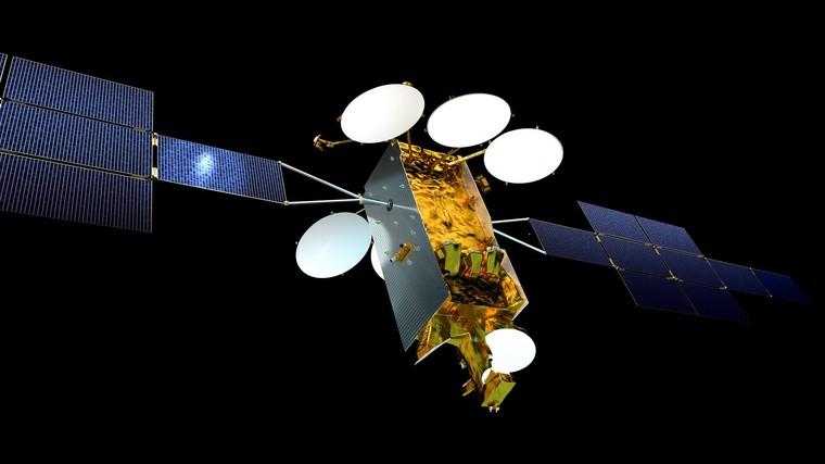 Representação gráfica do satélite Eurostar Neo da Airbus