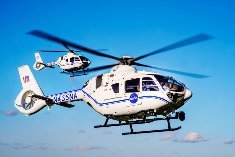 H135 em uso pela NASA