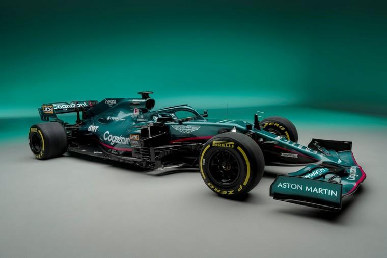 Novo AMR21 da Aston MArtin para a temporada 2021 da Formula 1
