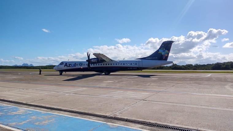 ATR 72-600 da Azul em Macaé