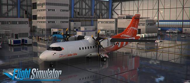 ATR para o Flight Simulator 2020