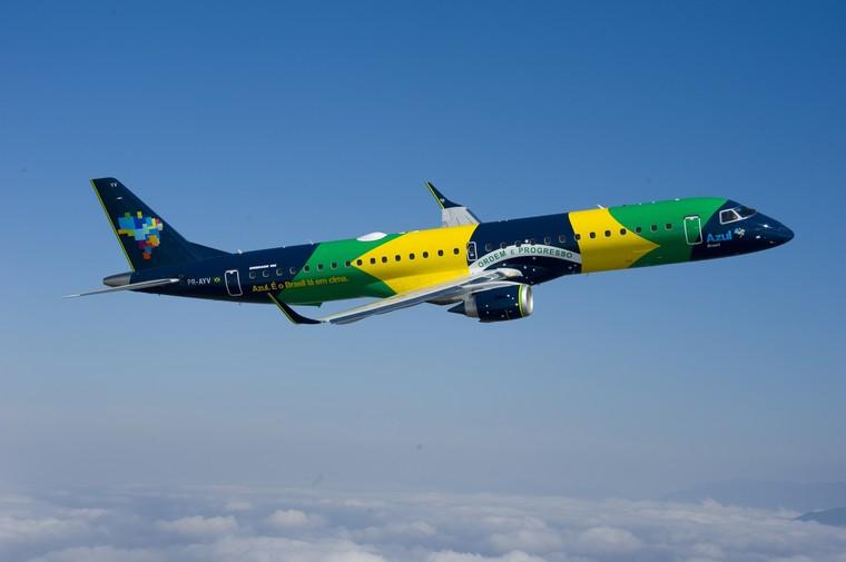 Embraer E-Jet da Azul
