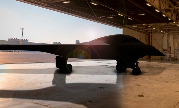 Ilustração do B-21 Raider