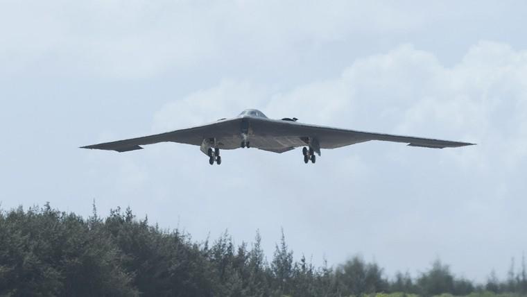 B-2 em voo