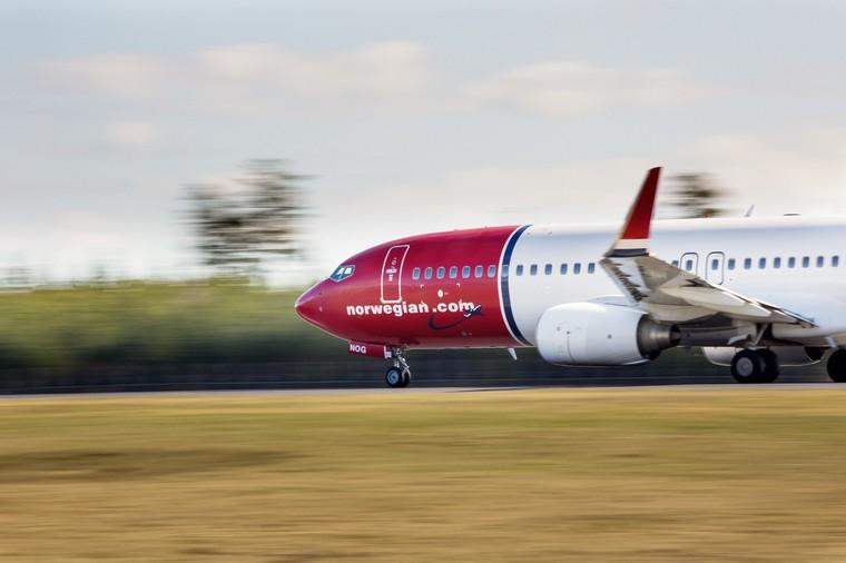 Boeing 737-800 da Norwegian Air