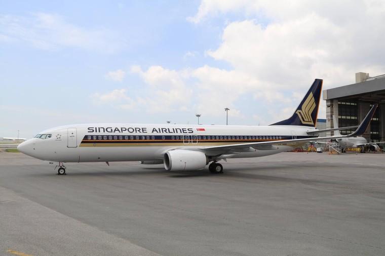 Boeing 737-800 da Singapore Airlines