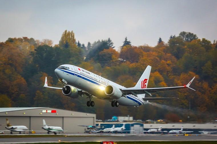 Boeing 737 MAX 8 da Air China