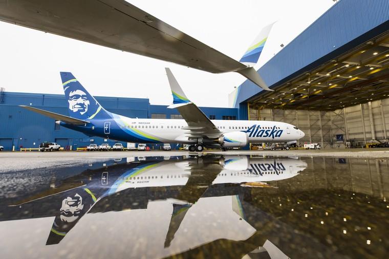 Primeiro 737 MAX 9 da Alaska Airlines