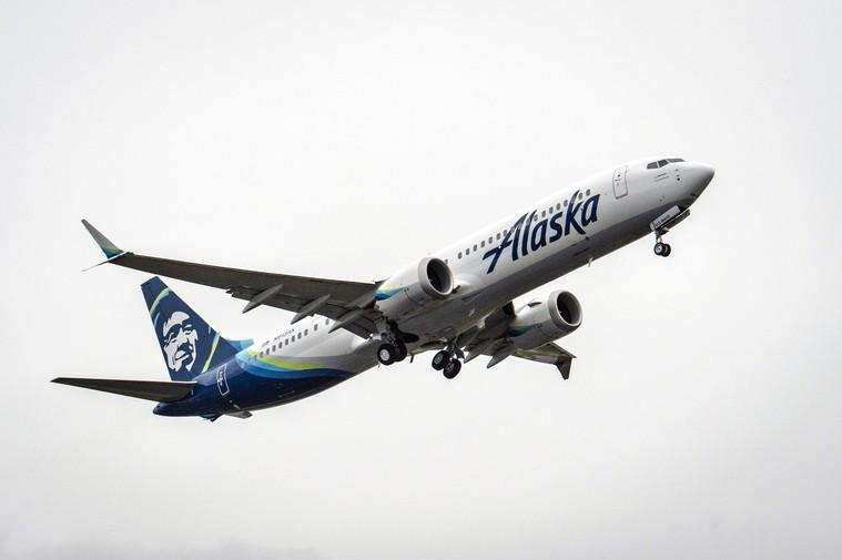 Boeing 737 MAX 8 da Alaska Airlines
