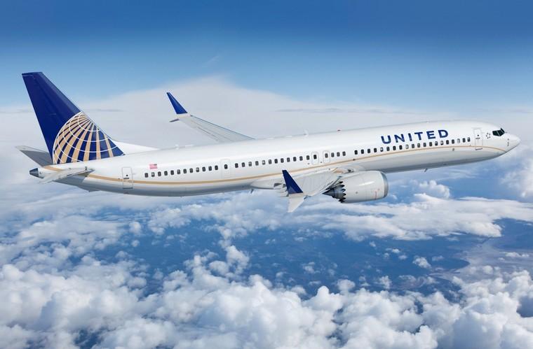 Boeing 737 MAX da United Airlines