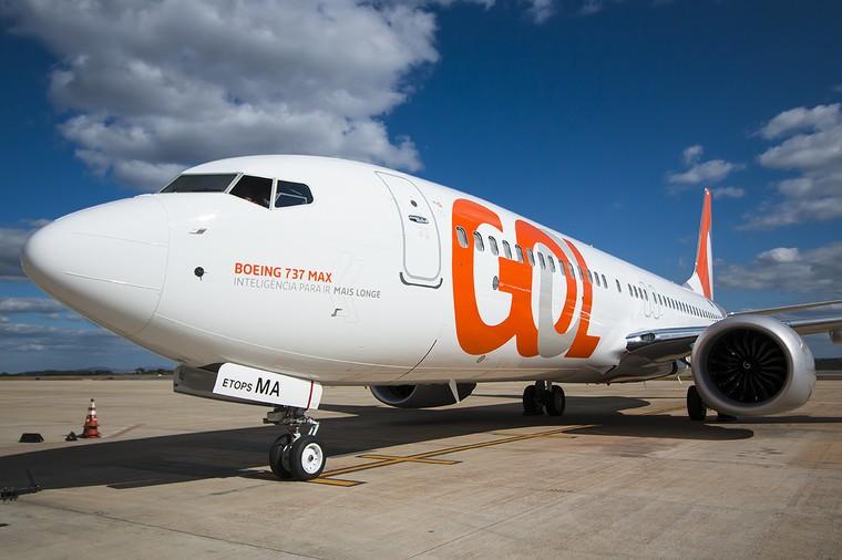 Boeing 737 MAX 8 da Gol