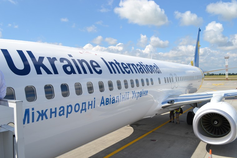Boeing 737 da Ukraine Airlines