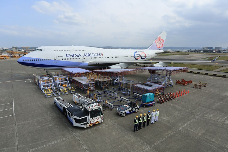 Boeing 747-400 da China Airlines