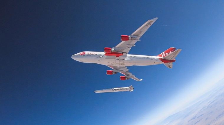 Boeing 747-400 da Virgin Orbit