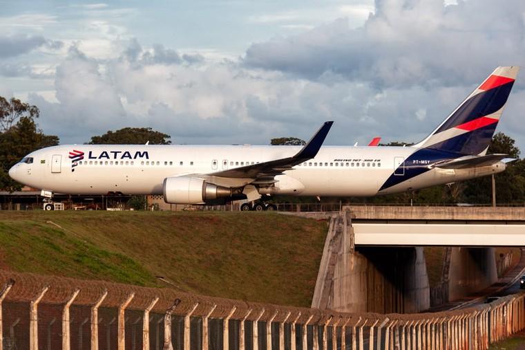 Boeing 767-300ER da Latam Airlines