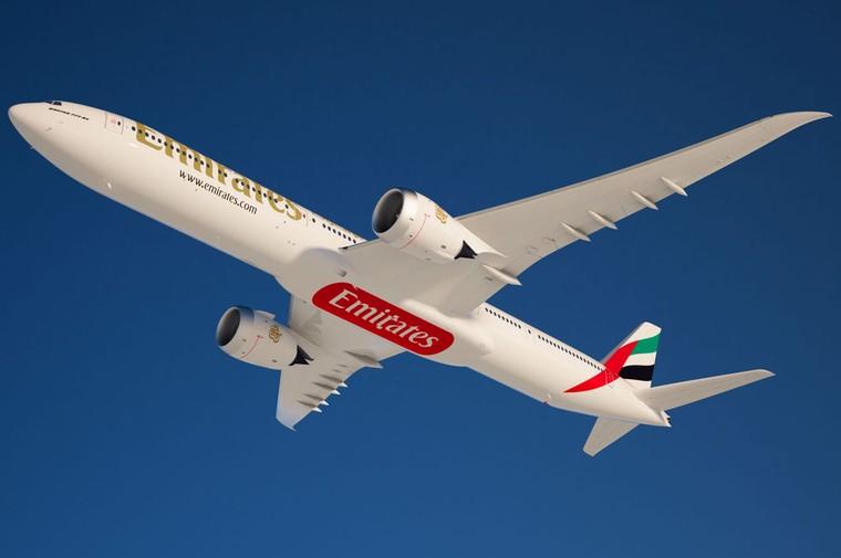 Boeing 777-300ER da Emirates Airline
