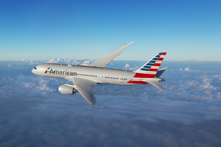 Boeing 787 da American Airlines