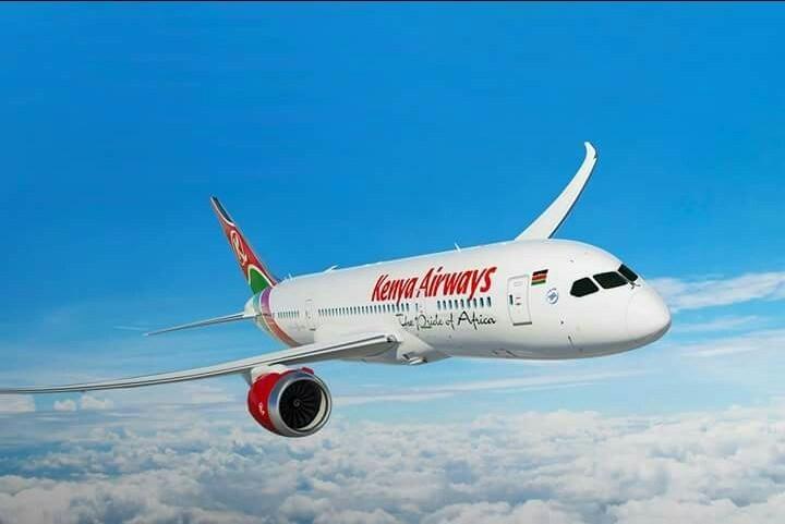 Boeing 787 Cargueiro da Kenya Airways