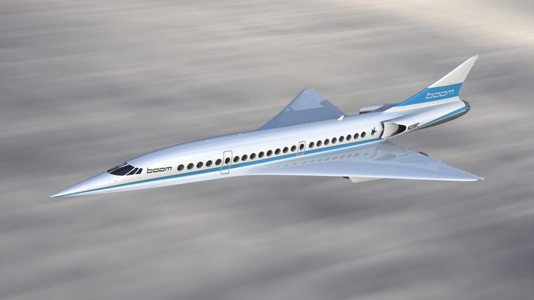 Overture o futuro avião supersônico comercial