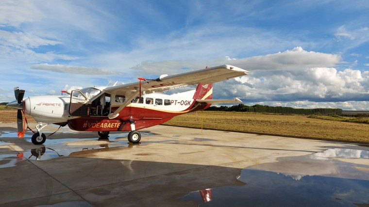 Cessna Caravan da Abaeté