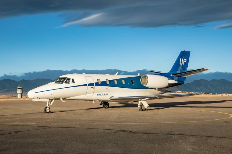 Cessna Citation da Wheels Up