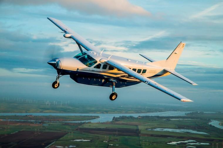 Cessna Grand Caravan em voo