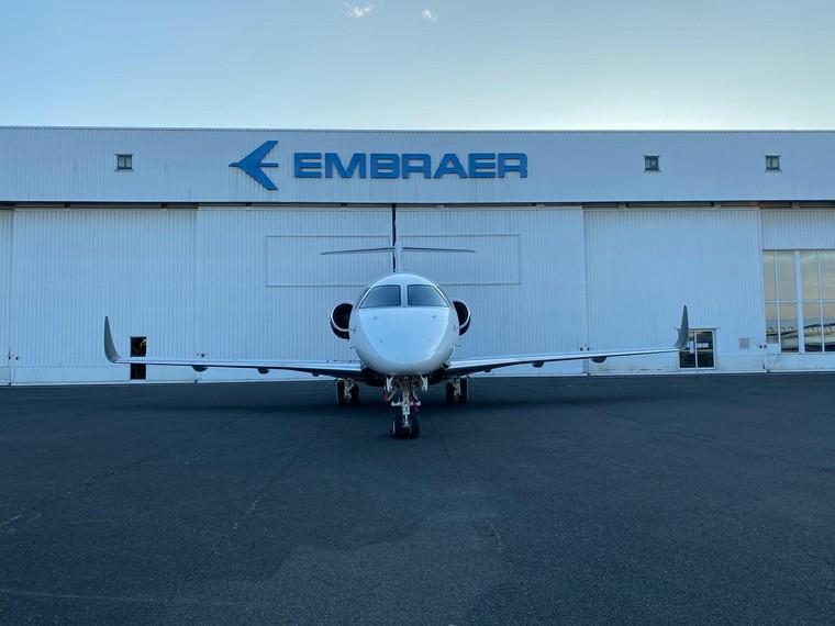 Embraer Legacy convertido em Praetor 500