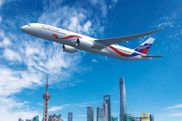 CR929 é produzido pela China e Rússia