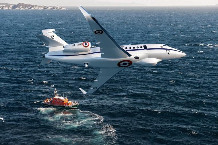 Dassault Falcon 2000LX da marinha da França
