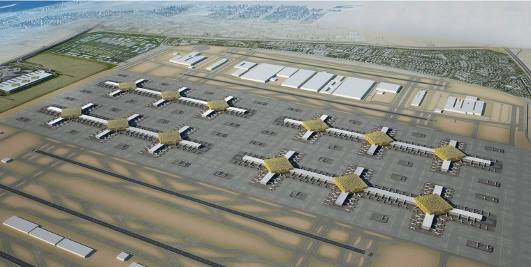 Projeto do novo aeroporto de Dubai