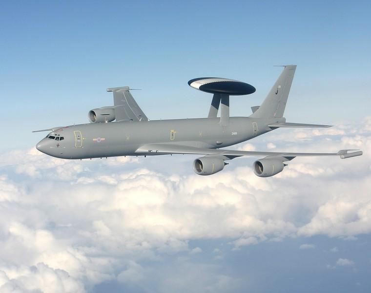 Boeing E-3B Sentry da Royal Air Force