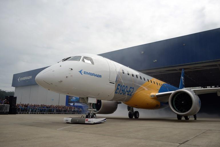 [Brasil] Embraer apresenta seu novo avião E190-e2_free_big