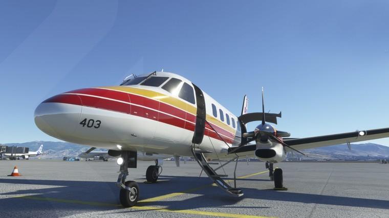 Embraer EMB-110 Bandeirante virtual para o FS2020