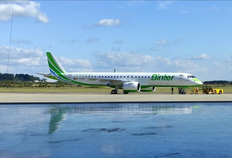 Embraer E195-E2 da Binter