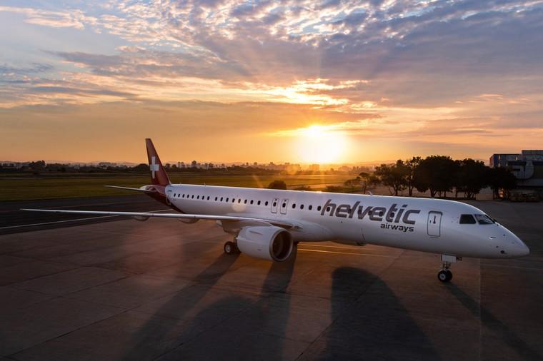 Embraer E195-E2 da Helvetic Airways
