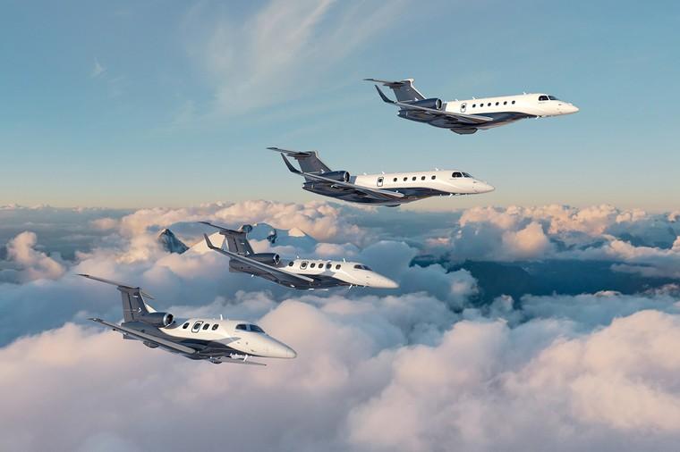Família de jatos executivos da Embraer