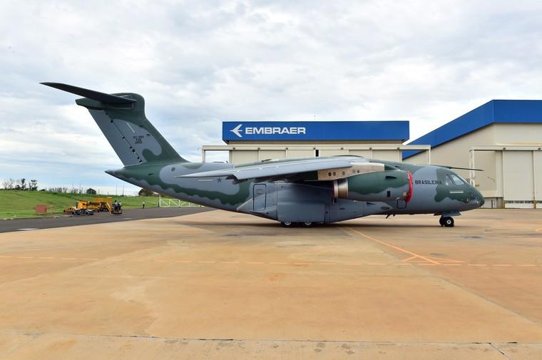 Quarto Embraer KC-390 entregue para à FAB