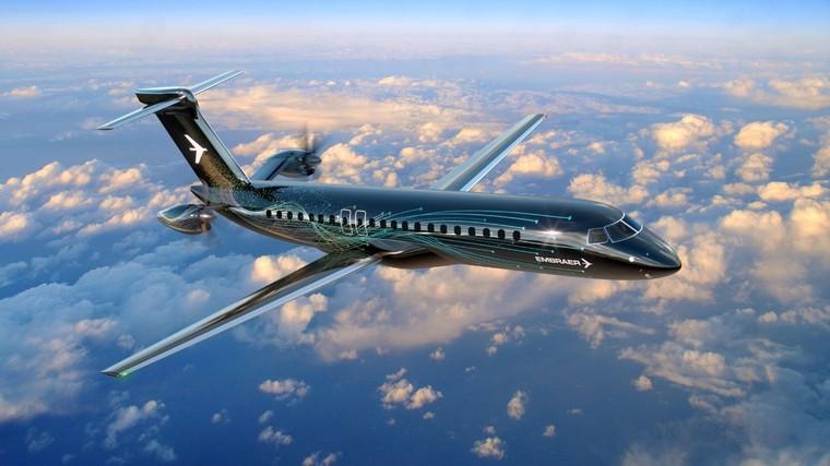 Novo turboélice da Embraer