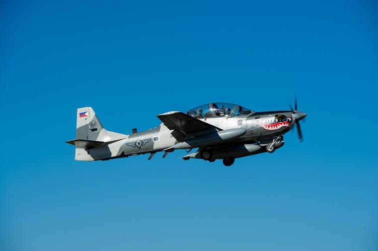 Embraer A-29 Super Tucano da força aérea das Filipinas
