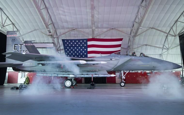 Cerimônia de entrega do F-15EX
