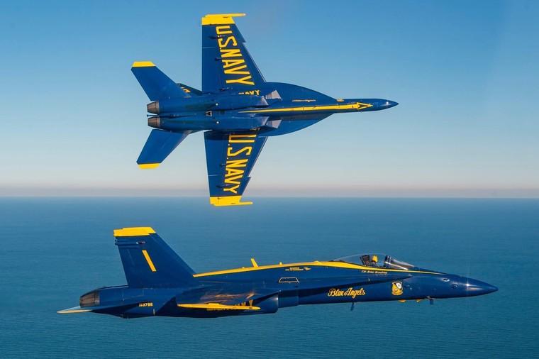 F/A-18 Hornet dos Blue Angels