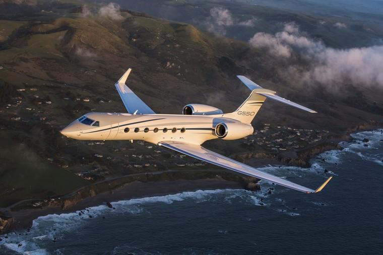 Gulfstream G550 última entrega