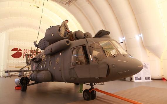 Rússia amplia suporte a helicópteros militares