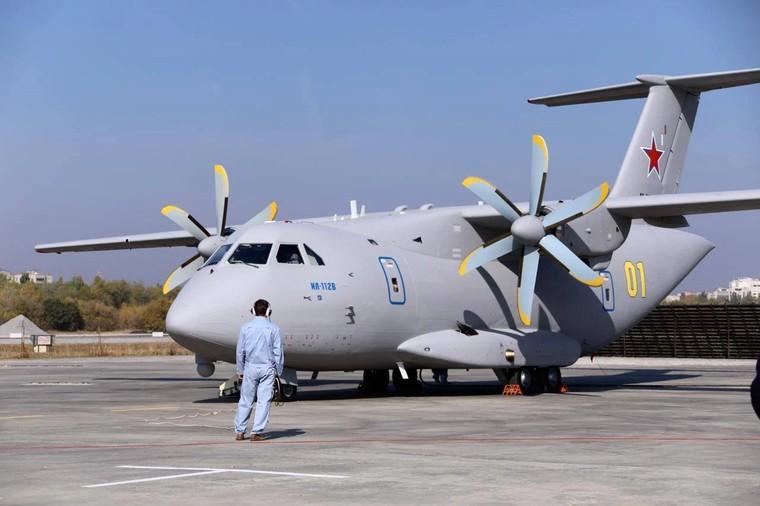 Ilyushin Il-112v da força aérea da rússia